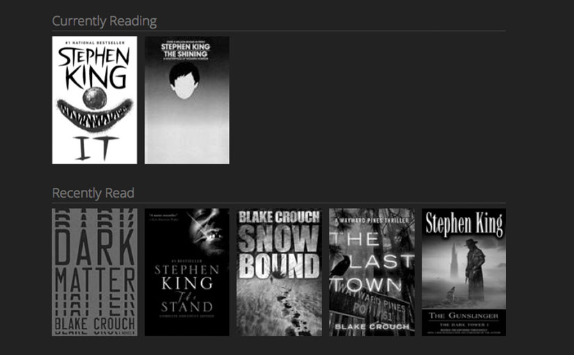 Kindle Currently Reading on Panic Status Board or Website